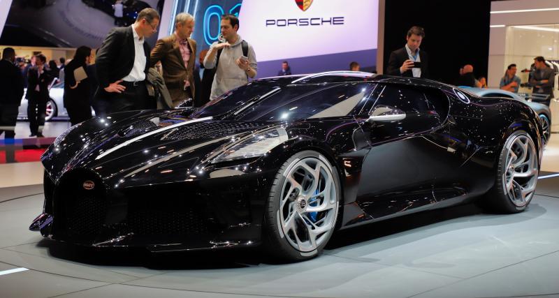 Salon de Genève 2019 - Bugatti La Voiture Noire : nos photos de l'hypercar française