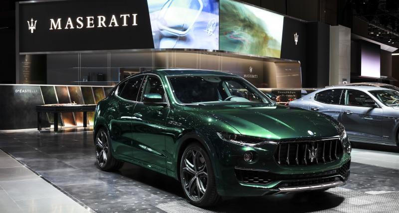 Maserati Levante One of One (Genève 2019) : maquille-la toi-même