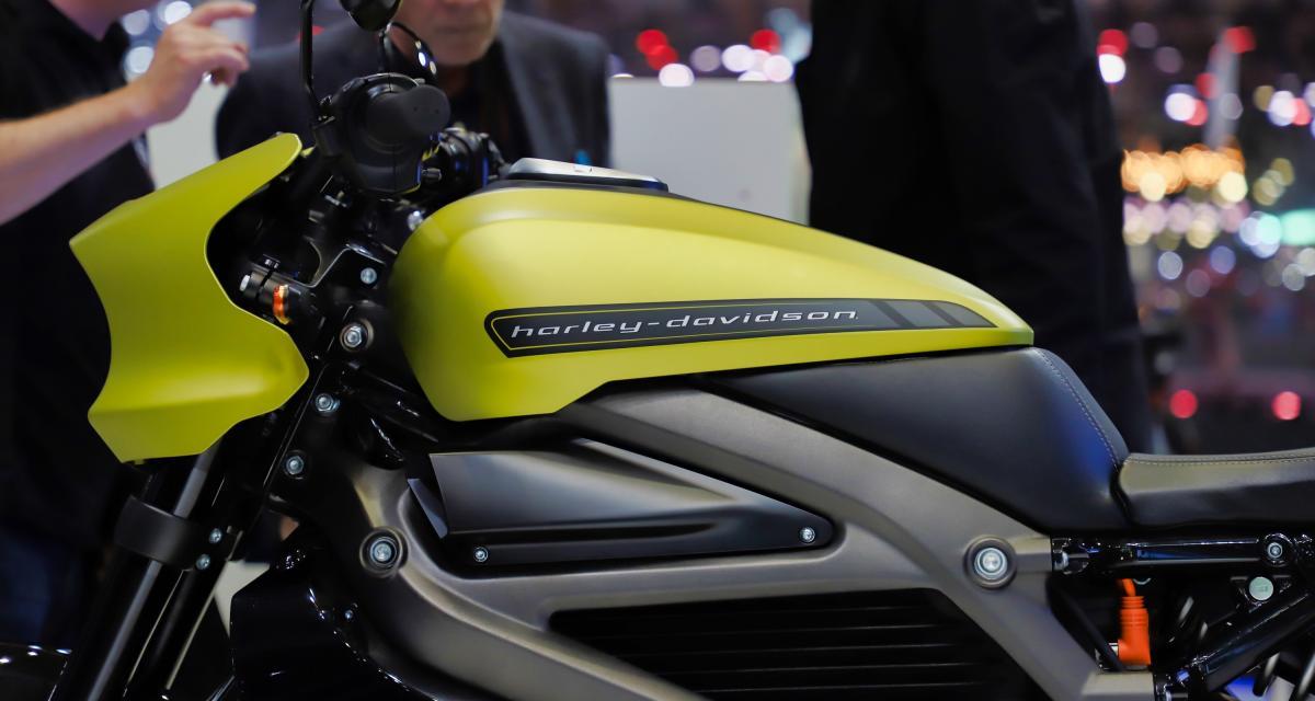 Harley-Davidson LiveWire : nos photos de la moto électrique au salon de Genève 2019
