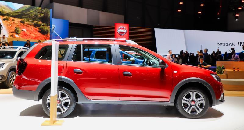 Dacia Logan Stepway Ultimate : nos photos de la série limitée au Salon de Genève 2019