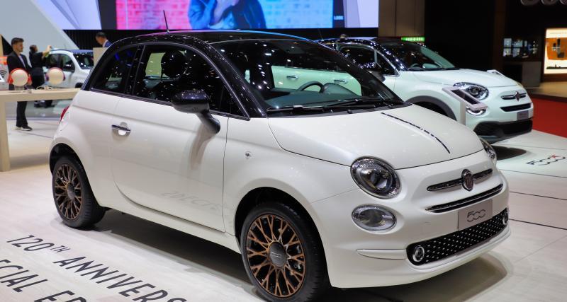 Fiat 500 120ème : nos photos de la version 120ème anniversaire au Salon de Genève 2019