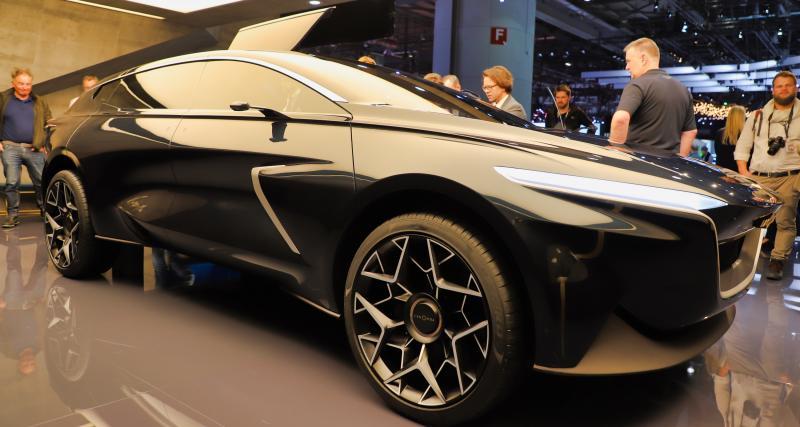 Aston Martin Lagonda All-Terrain Concept : nos photos du SUV électrique au Salon de Genève 2019