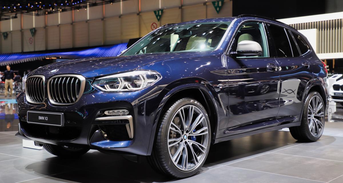 BMW X3 M : nos photos de la version hautes performances au Salon de Genève 2019