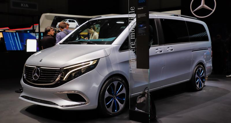 Mercedes Classe EQV : nos photos du Van 100% électrique au Salon de Genève 2019