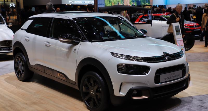 Citroën C4 Cactus Origins : nos photos de l'édition des 100 ans au Salon de Genève 2019