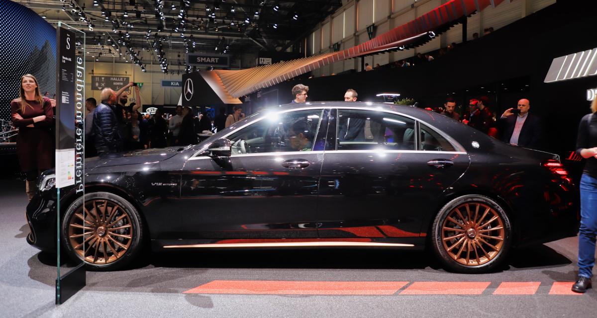 Mercedes-AMG S 65 Final Edition : toutes nos photos de la grande berline hyper luxueuse au Salon de Genève 2019