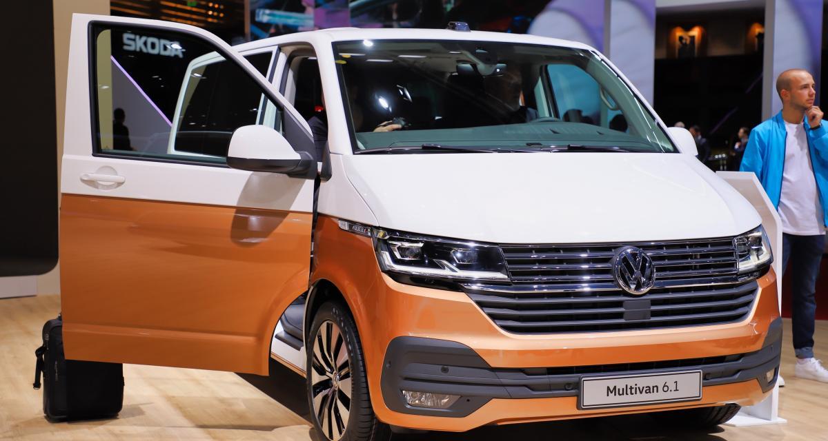 Volkswagen Multivan : nos photos du restylage au Salon de Genève 2019