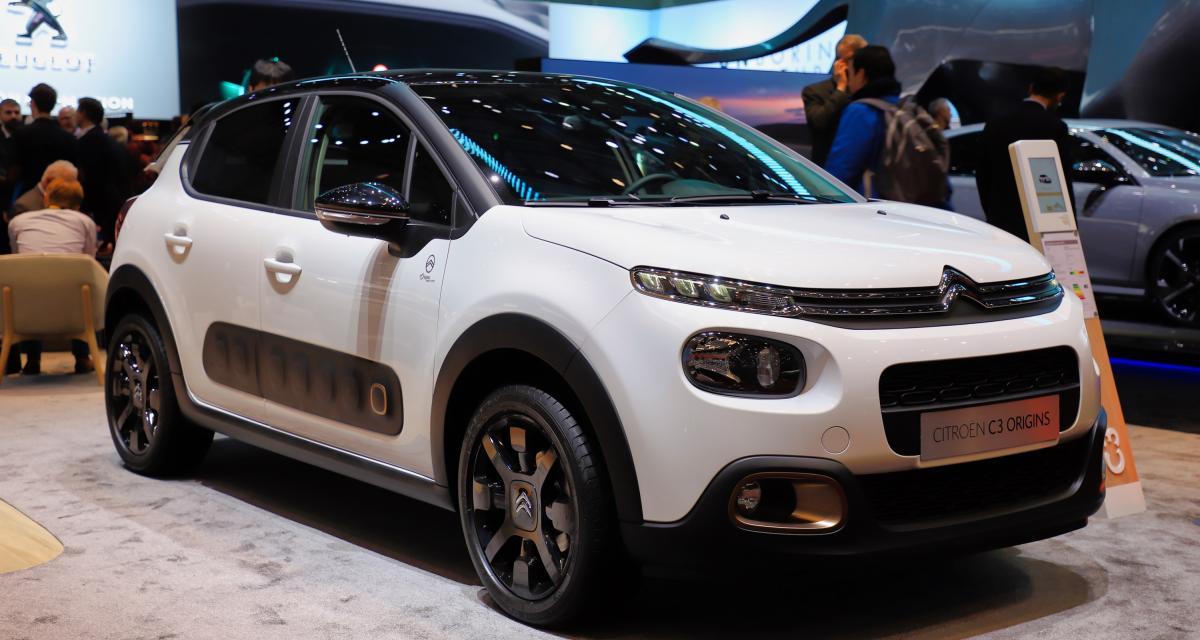 Citroën C3 Origins : nos photos de l'édition des 100 ans au salon de Genève 2019