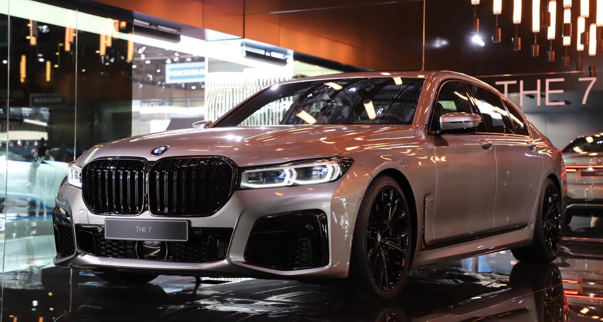 BMW Série 7 : nos photos du restylage au salon de Genève 2019