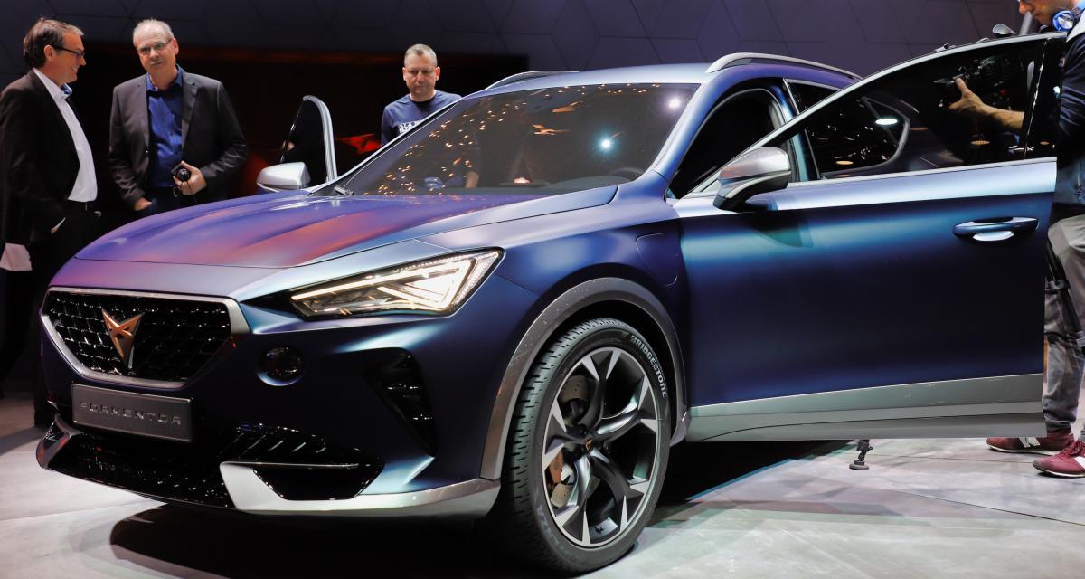 Cupra Formentor au Salon de Genève : nos photos du concept de SUV hybride