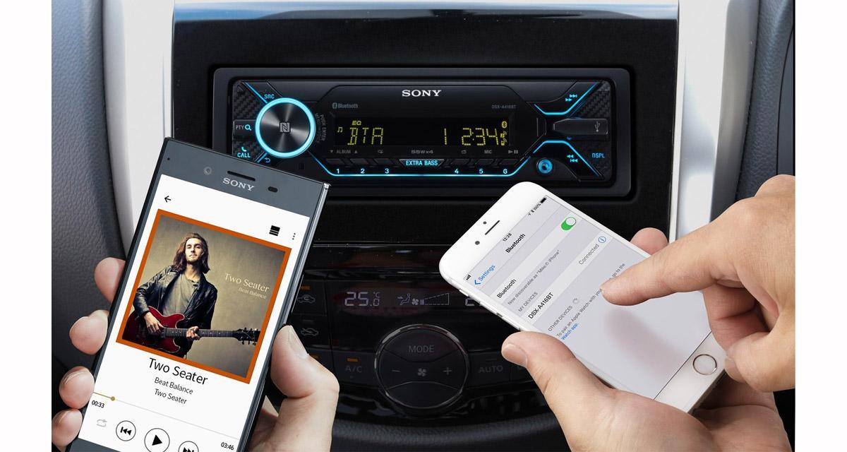 Un autoradio Sony dédié aux sources nomades à prix canon