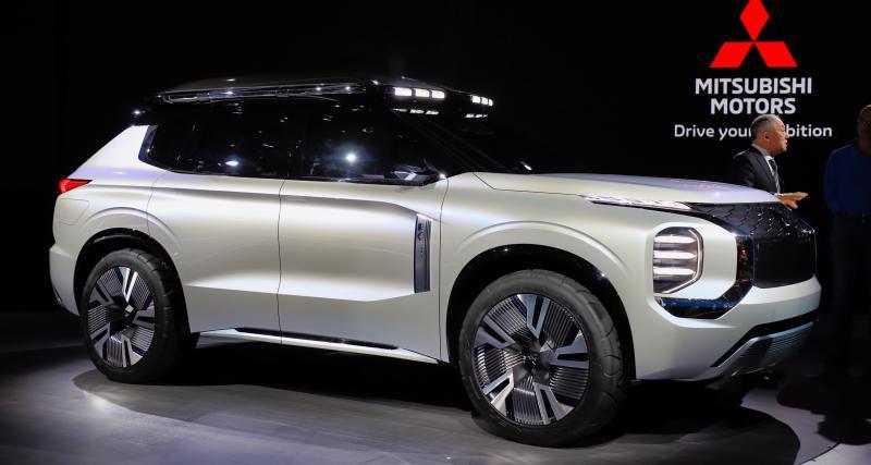 Mitsubishi Engelberg Tourer: nos photos du nouveau SUV japonais