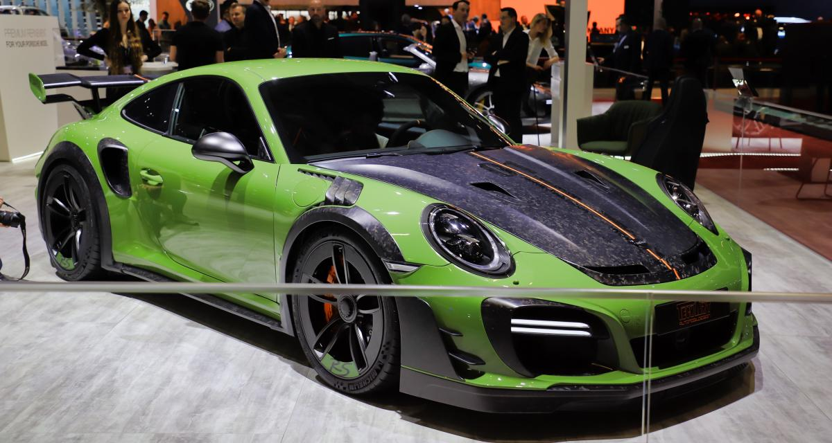 Techart GTstreet RS(Genève 2019) : pimp my Porsche 911 Turbo S