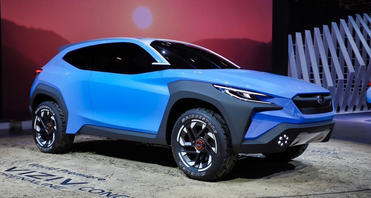 Subaru Viziv Adrenaline: le crossover sportif au Salon de Genève