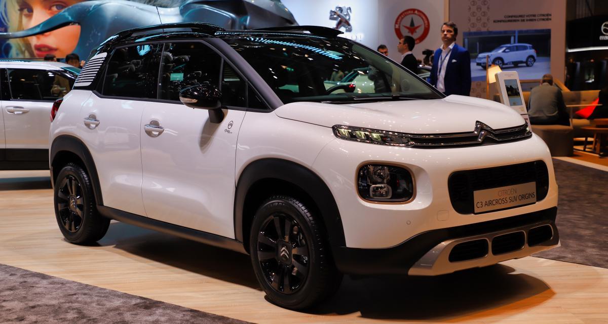 Citroën C3 Aircross Origins : nos photos de l'édition des 100 ans au salon de Genève 2019