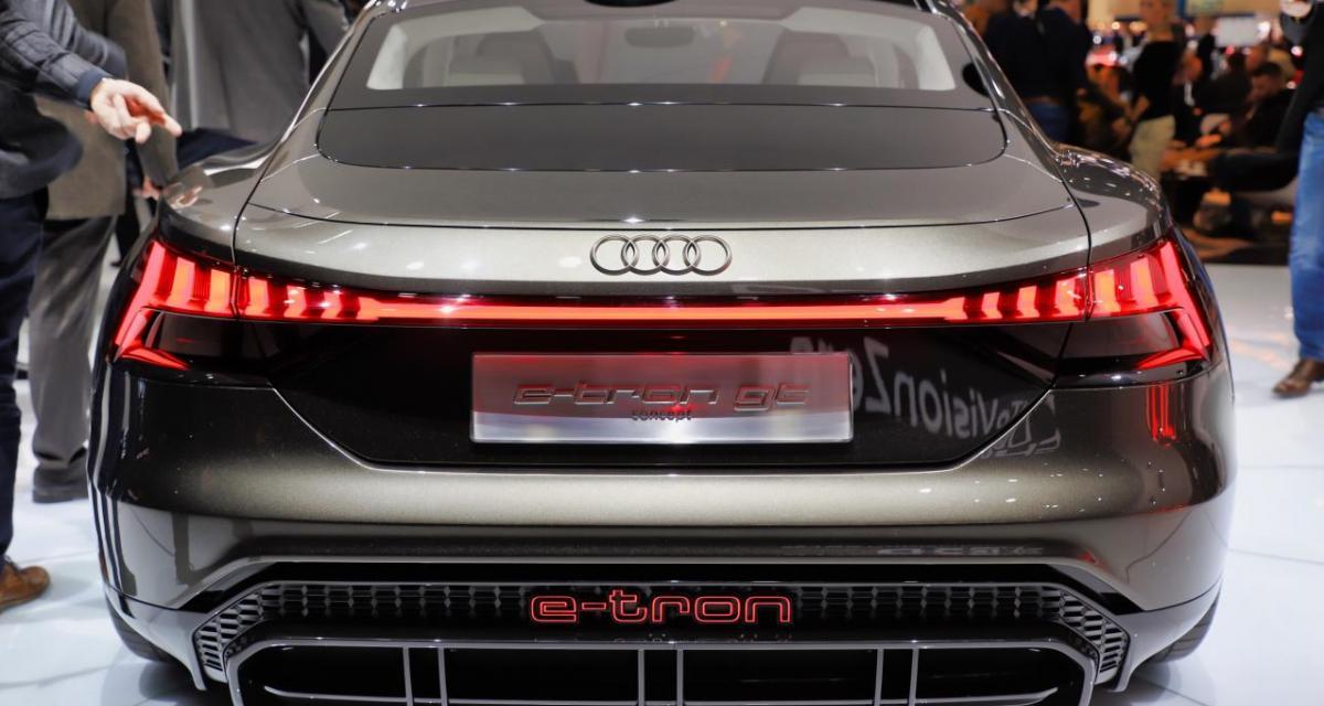 Audi e-tron GT : nos photos du concept au salon de Genève 2019