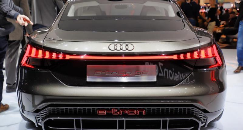 Salon de Genève 2019 - Audi e-tron GT : nos photos du concept