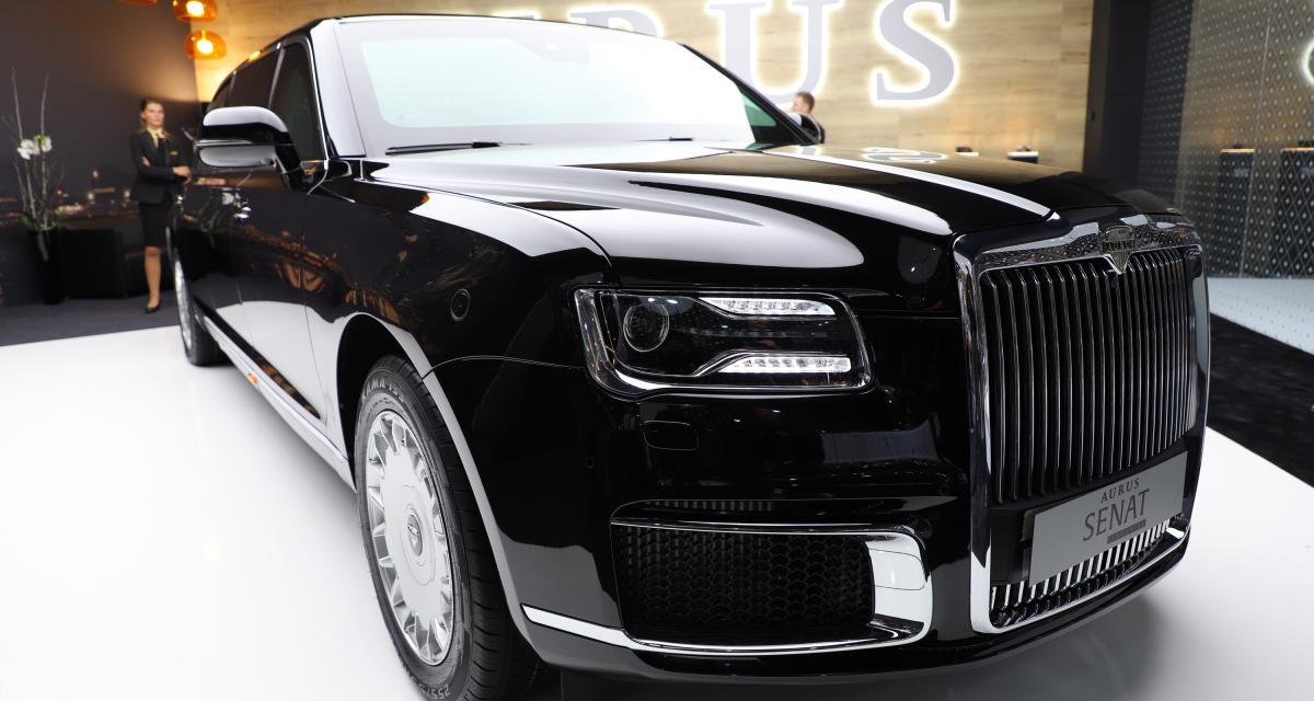 Aurus Senat: la limousine blindée de Poutine en 4 points