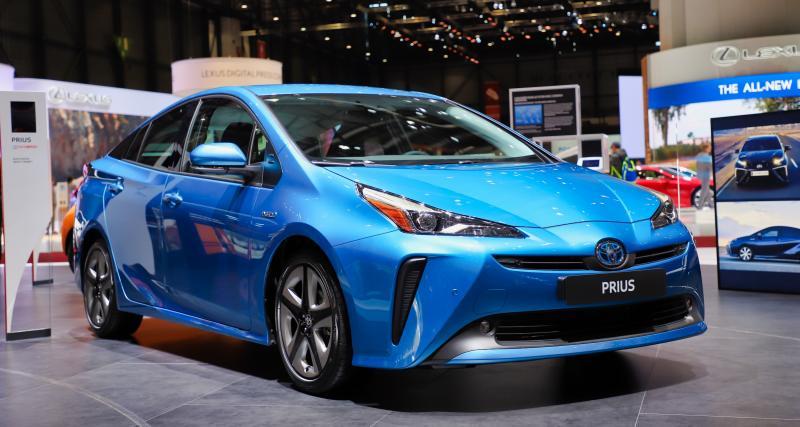 Toyota Prius restylée (Genève): un petit coup de polish