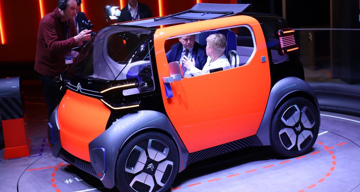 Citroën Ami One Concept en 4 points: la mobilité urbaine de demain débarque à Genève