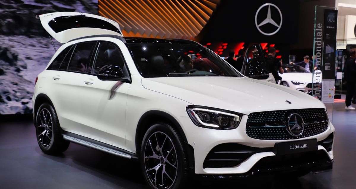 Mercedes GLC restylé : nos photos du SUV au salon de Genève 2019
