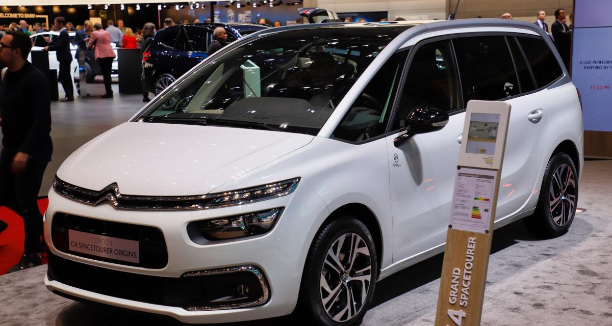 Citroën C4 SpaceTourer Origins : nos photos du monospace au salon de Genève 2019