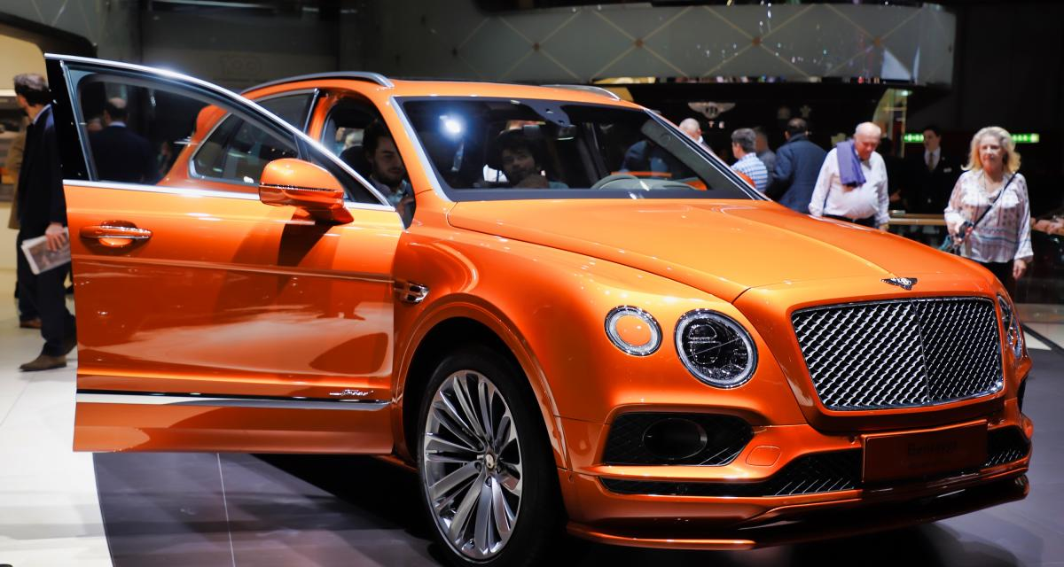 Bentley Bentayga Speed : nos photos du SUV de luxe restylé au salon de Genève 2019