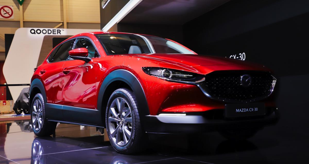 Mazda CX-30 : nos photos du SUV au Salon de Genève 2019