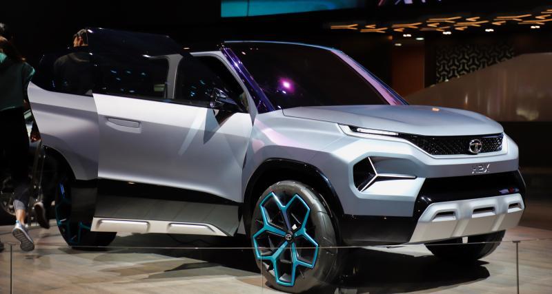 Tata H2X Concept: l'avenir de l'Inde débarque en Suisse
