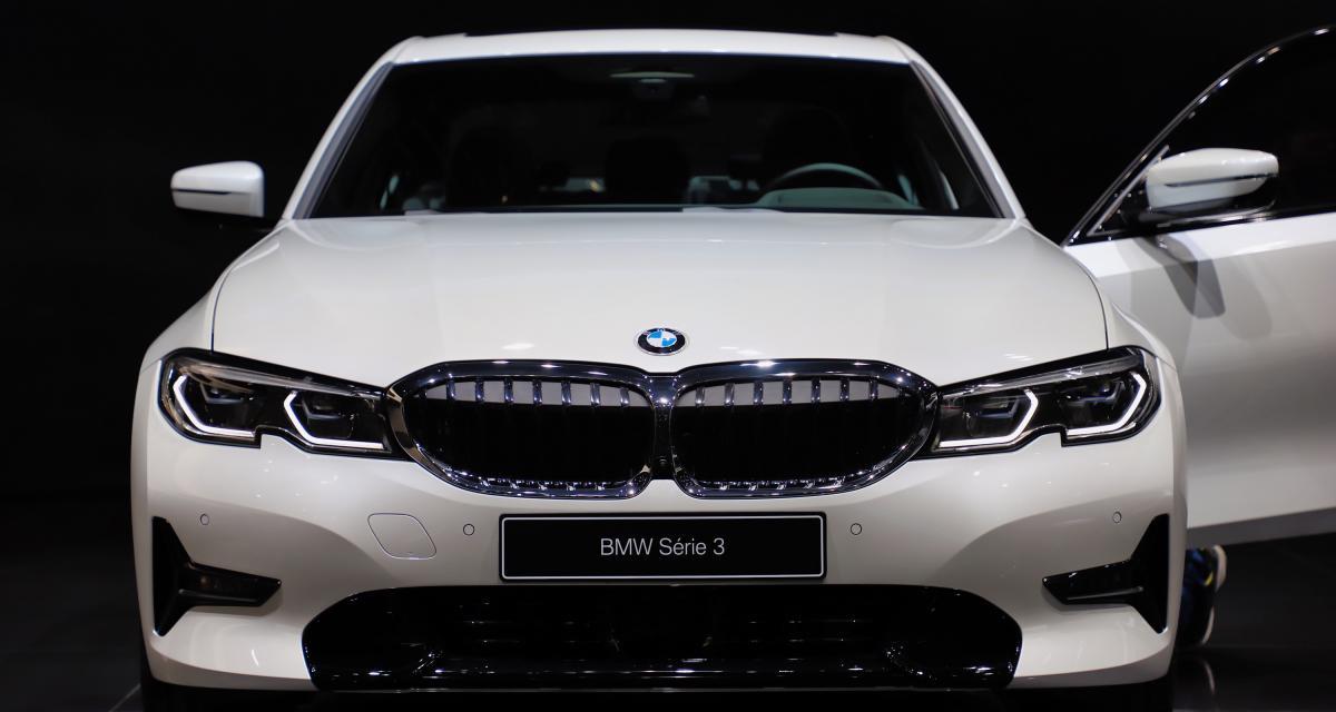BMW 330e iPerformance : nos photos de l'hybride rechargeable au salon de Genève 2019