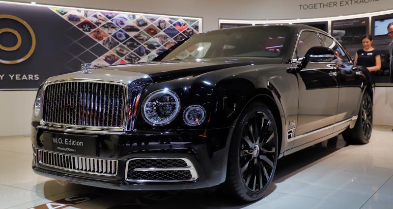 Bentley Mulsanne W.O Edition by Mulliner : nos photos de l'édition limitée au salon de Genève 2019