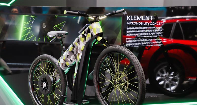 Skoda Klement : le concept de vélo électrique en photos au Salon de Genève 2019