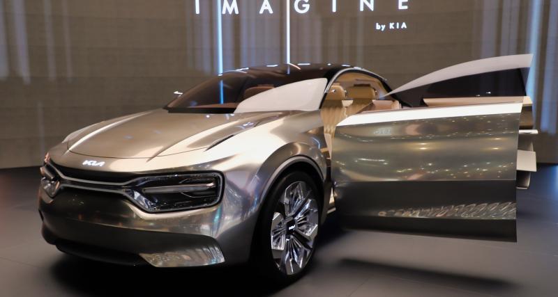 Kia Imagine : le concept électrique et futuriste en photos au Salon de Genève