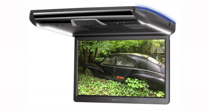 Un écran plafonnier HD avec connexion Smartphone chez Soundstream