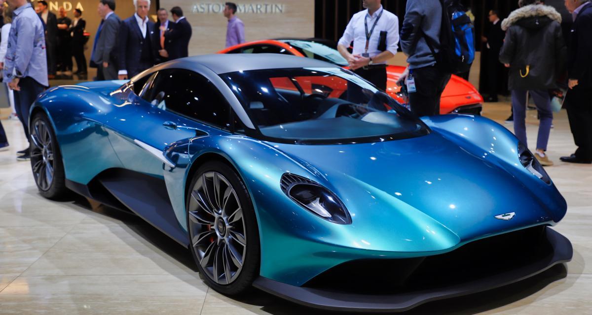 Aston Martin Vanquish Vision Concept: le futur d'Aston se dévoile à Genève