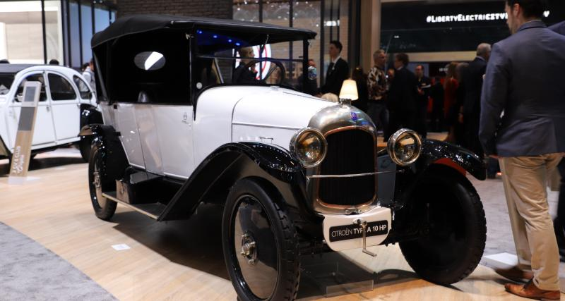 Citroën Type A : nos photos au salon de Genève 2019