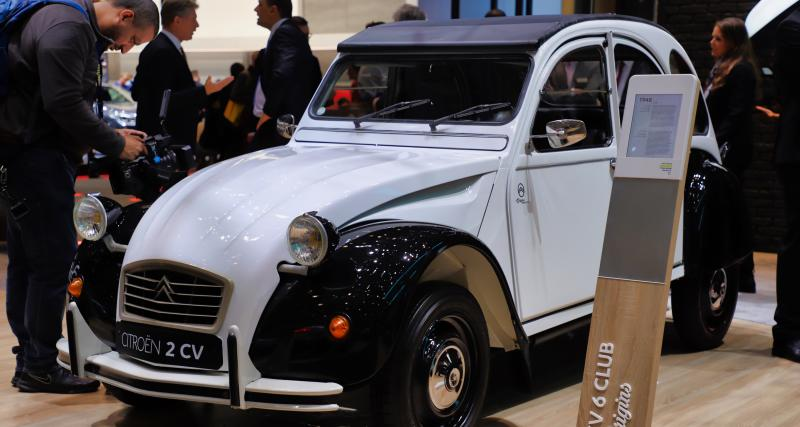 Citroën 2 CV 1948 : nos photos au salon de Genève 2019