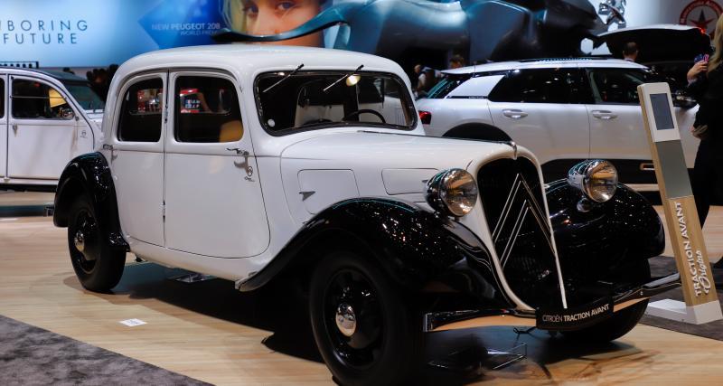 Citroën Traction 1934 : nos photos au salon de Genève 2019