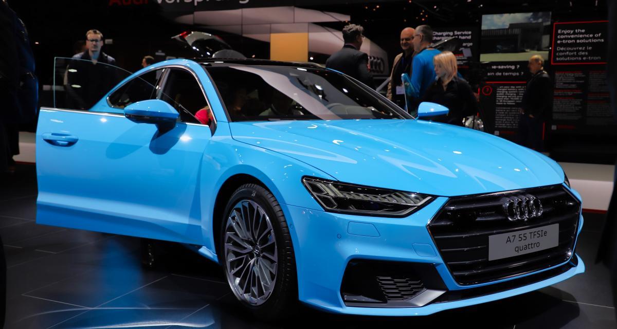Salon de Genève 2019 - Audi A7 PHEV : nos photos de l'hybride rechargeable
