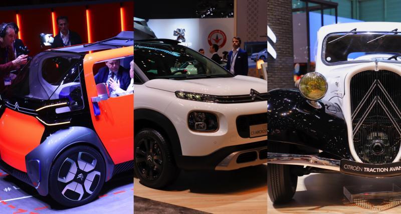 Ami One, The Citroënist, série Origins… le stand Citroën à Genève en photos et vidéos