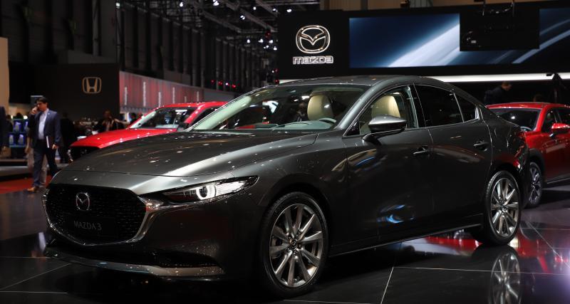 Salon de Genève - Mazda3 Berline : nos photos de la version 4 portes