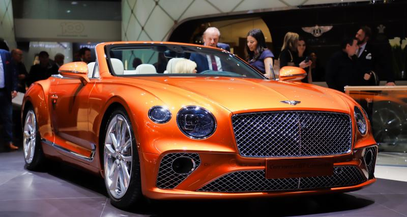 Salon de Genève 2019 - Bentley Continental GT Cabriolet : nos photos de l'édition limitée