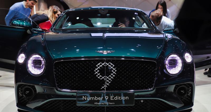 Salon de Genève 2019 - Bentley Continental GT Number 9 : nos photos de l'édition limitée