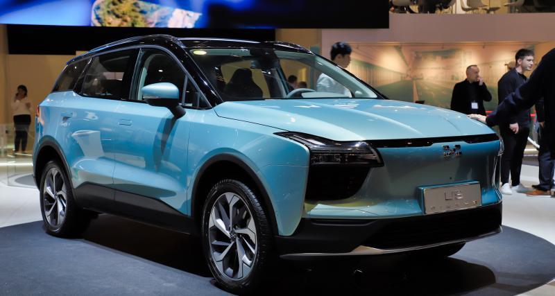 Aiways U5 : nos photos du SUV chinois électrique qui veut faire de l'ombre à Dacia
