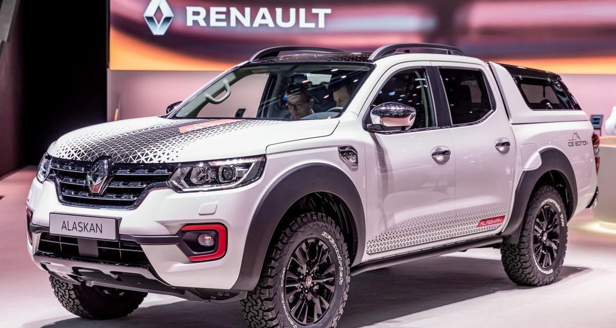 Renault Alaskan Ice Edition : toutes les photos du concept du pick-up