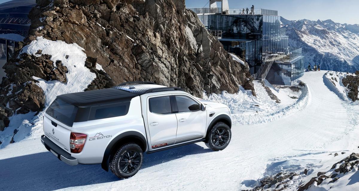 Renault Alaskan: un pick-up complètement givré