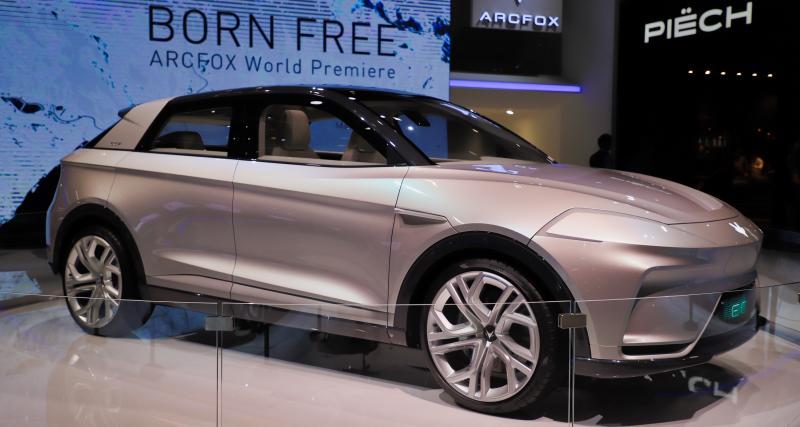 Salon de Genève - Arcfox ECF : nos photos du concept de SUV électrique
