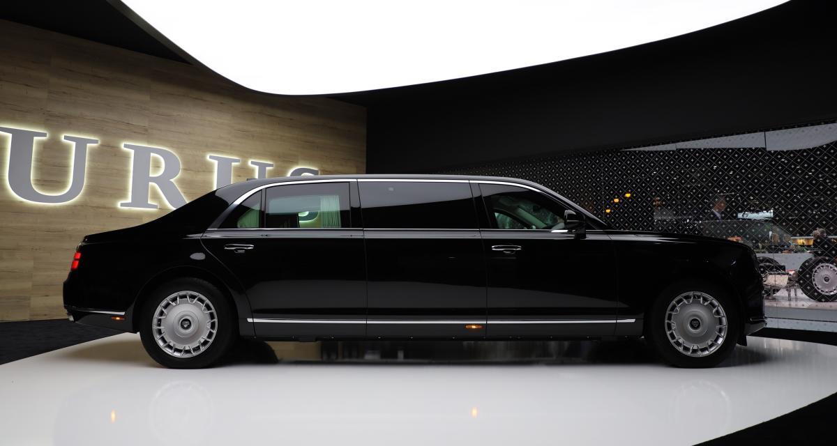 Salon de Genève - Aurus Senat Limousine : nos photos de la luxueuse voiture de Poutine