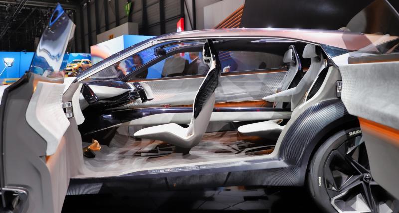 Salon de Genève - Nissan IMQ : nos photos du concept électrique