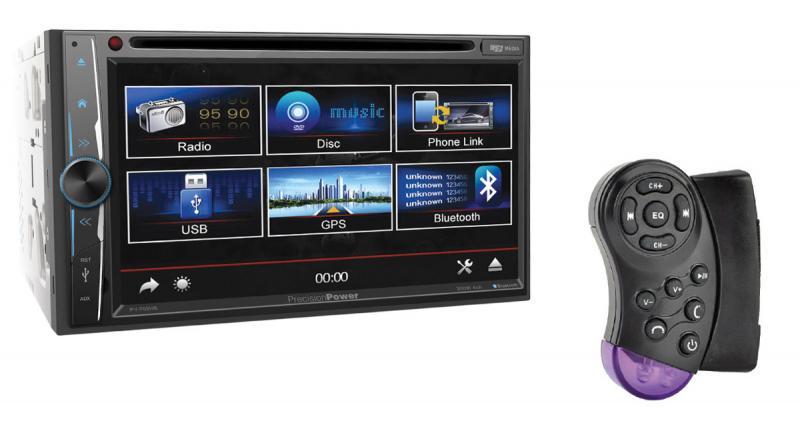 Precision Power commercialise un autoradio avec contrôle de Smartphones Android